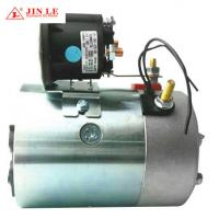 Quality Carbon Brush Hydraulic Pump Motor 12 V 1.6 KW 114mm O.D. 6N.M Torque wholesale