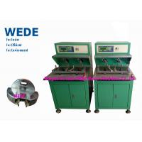 Quality Fast Flyer Style Manual Coil Winding Machine , External Armature Motor Stator Winding Machine wholesale