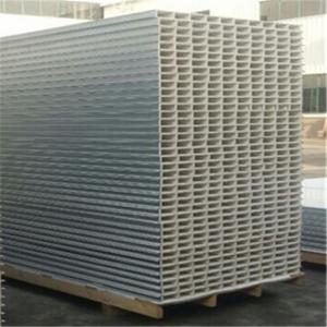 Quality construction building 50mm glass magnesium hollow core sandwich panel wholesale