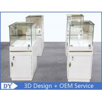 Quality MDF Jewellery Display Cabinets With Lock OEM 450 X 450 X 1250MM wholesale