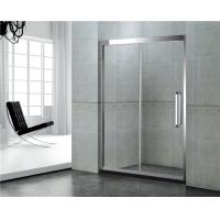 Quality 8 / 10 MM With Frames Shower Enclosures Tempered Glass With Stianless Steel Accessories wholesale