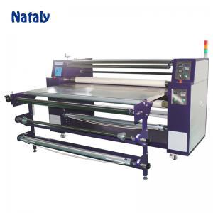 China High efficiency oil heating roll heat press heat transfer machine on sale