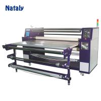 China Large format Roller oil Sublimation Heat Press 1.7M Roll to Roll Heat Transfer Printing Machine for Fabric Textile on sale