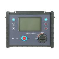Quality Megger Ground Impedance Tester, High Precision Digital Earth Resistance Meter wholesale