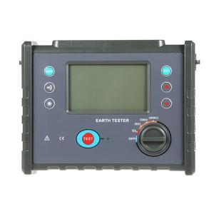 Megger Ground Impedance Tester, High Precision Digital Earth Resistance Meter