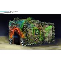 Quality Dinosaur Cinema Box, Mobile 5D Motion Theater Movie Equipment For Theme Park wholesale
