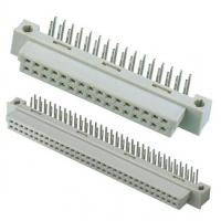 Buy cheap DIN 3 Row 64 Pin Idc Ribbon Cable Connectors Copper Alloy Material With PBT from wholesalers