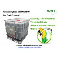 Quality Technical Grade Liquid Amyloglucosidase Enzyme , Biological Enzymes For Fuel Ethanol Industry wholesale