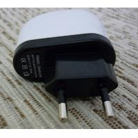Quality 5V 1A Universal USB Travel Charger , Mobile Phone Charger Black and White wholesale
