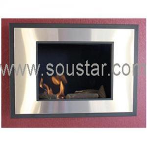 China Wall mounted fireplace on sale