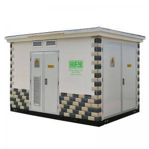 Quality European Type Prefabricated Electrical Substation Box YB Series 11/0.4 KV 1250 KVA wholesale