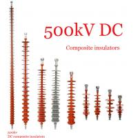 Quality Composite Polymeric Silicone Rubber Insulator 500kv Creepage Distance 17600mm wholesale