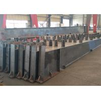 Quality Roof Metal Support Beam , Castellated Building Steel Beams In H Shape wholesale