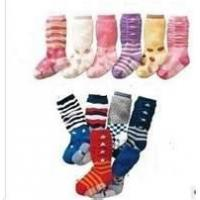 Quality Winter Anti - Bacterial comfortable Non Slip Baby Socks for 0 - 3 months baby wholesale