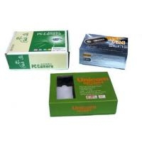 Quality Folding Shipping Printed Cardboard Boxes , Cardboard Packaging Boxes Free Sample wholesale