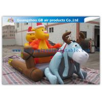 China Cartoon Inflatable Holiday Decoration , Inflatable Christmas Yard Decorations on sale