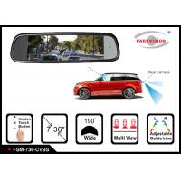 Quality 1280 * 400 Resolution Reversing Mirror Monitor , Rear View Mirror Video Monitor wholesale