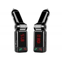 Cheap Professional Grade Bluetooth Car Charger Full Frequency FM Transmitter for sale
