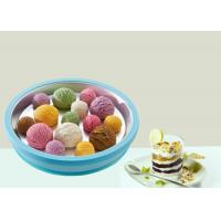 Buy cheap Mini Fried Ice Cream Roll Machine Household Instant Ice Cream Maker Blue Colour from wholesalers