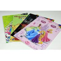 Quality Home Recyclable Saddle Stitch Book Binding , Children Story Book Printing wholesale