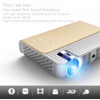 China simplebeamer GP5W 3D led Projector 1800 lumens with Android 4.44 OS,wifi Smart projector Bluetooth exceed mini projector on sale