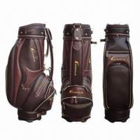 China Golf Bag, Made of PU Material, Sized 9 x 35-inch on sale