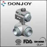 Quality Pneumatic Three-Way Ball Valve (Horizontal Actuator) wholesale
