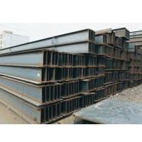 Quality Custom Size Steel H beam Hot Rolled 3 mm - 30 mm Thickness Black wholesale