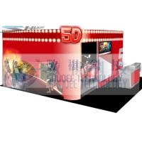 Quality 4D movie theater with movie poster , advertisement cinema cabin wholesale