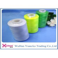 Quality Raw White / Green Strong Sewing Thread / Spun Polyester  Sewing Thread wholesale