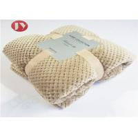 Quality Home Bedroom Polyester Fleece Blanket Microplush Diamond Flannel Fleece Coral Throw Blanket wholesale