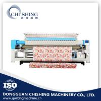 Quality Mattress Single Needle Quilting Machine , Industrial Embroidery Machines 3.2 Meters wholesale