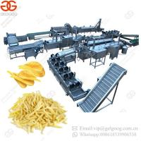 China Hot Sale Electric Heating Fully Automatic Potato Chips Production Line on sale