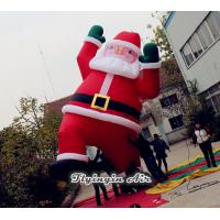 Quality 6m Height Oxford Cloth Decorative Christmas Inflatable Santa Claus for Decoration wholesale