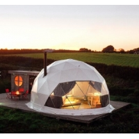 Quality 7M Camping Clear Geodesic Dome Tent With Insulation wholesale