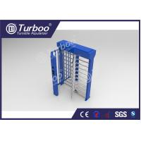 Quality Full Height Security Controlled Access Turnstiles With RFID Card Reader wholesale