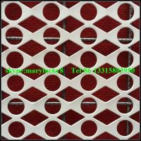Quality Round Hole Perforated metals supplier/Decorative perforated sheet metal wholesale