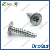 Buy cheap Stainless Steel 304 Philips Modified Truss Head Self Drilling Screws product
