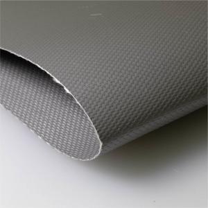 Quality 666 Liquid Silicone Coated Fiberglass Fabric , Silicone Fiberglass Cloth wholesale