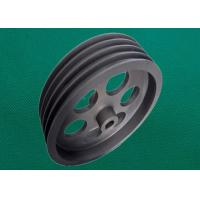 Quality ADC12 die casting aluminum 4 grooves  pulley  with hard anodizing wholesale