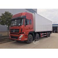 Quality Dongfeng Commercial Refrigerated Box Truck 12 Wheel 245hp 20 Ton -18 ℃  Degree wholesale