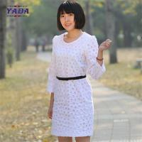 China Ladies long sleeves embroidery dress casual wear latest ladies office dresses women party on sale