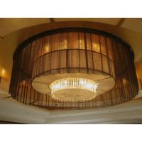 Quality Metal Coil Drapery Architectural Metal Mesh Fabric Drapery Curtains wholesale