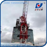 Quality QTD4522 Luffing Jib Tower Crane 6 ton Construction Crane for High Rise Building wholesale
