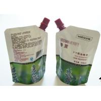 Quality Colorful Printing Liquid Spout Bags , Customized Stand Up Pouch With Spout wholesale