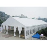 Buy cheap 1000 People Seaters Luxury Decoration Church Tent With Glass SideWall from wholesalers