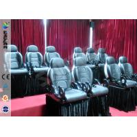 Cheap Durable Electric Motion 5D Theater Chair Special With 6 Effects for sale