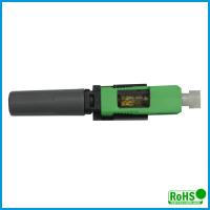 Durable Multimode Fiber Connectors / Green Fiber Patch Cable Connector