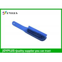 Quality Customized Color Rubber Dog Brush , Dog Cat Cleaning Brush TPR Material PC0330 wholesale