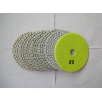Buy cheap 3mm Thickness Diamond Flexible Polishing Pad Wear Resistance Environmental from wholesalers